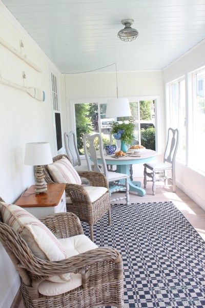 Sunroom at Finding Silver Pennies