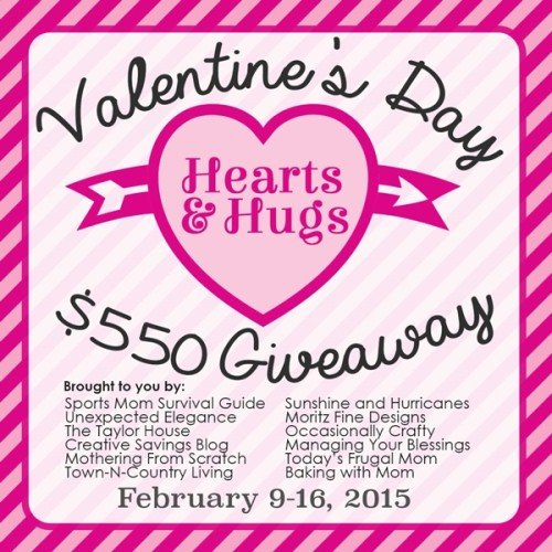 Hugs and Hearts Valentine's Day Giveaway
