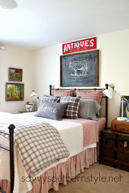 Fashion Inspired Guest Room: Savvy Southern Style