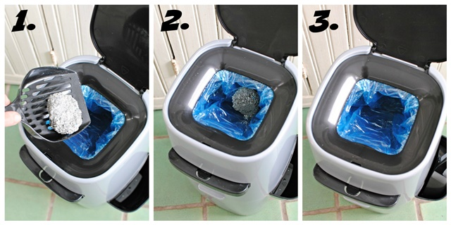 How to Use the Litter Genie. Easy as 1, 2, 3!