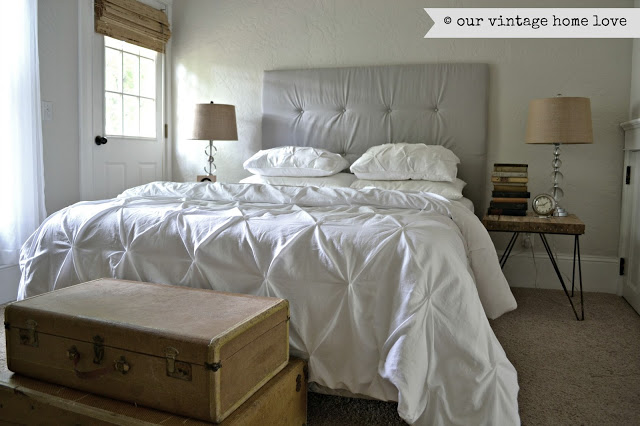 Western Inspired Room Love The Headboard With Old Doors: Our Vintage Home Love