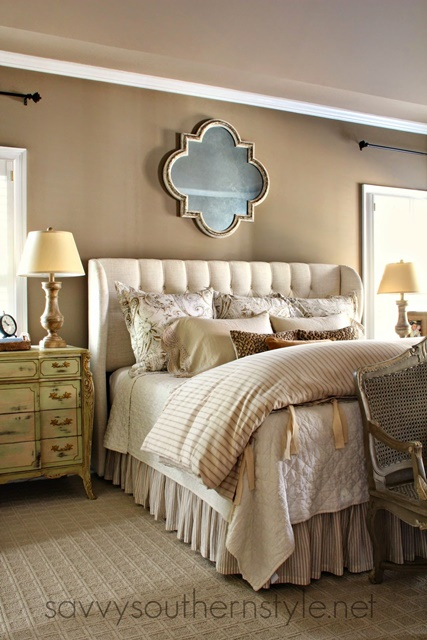 Traditional Style Master Bedroom