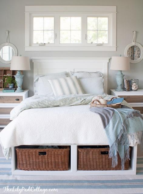Beach Style Master Bedroom