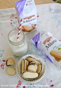 Milk and Milano Cookies