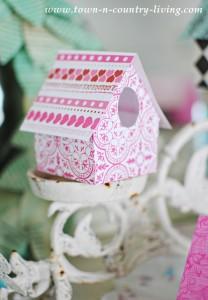 DIY Paper Birdhouses