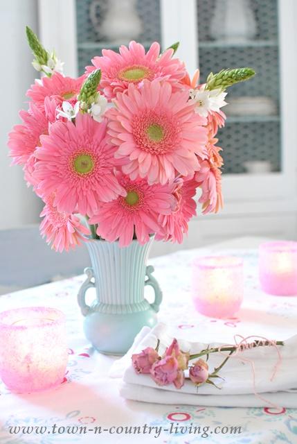 Favorite flower arrangements town country living