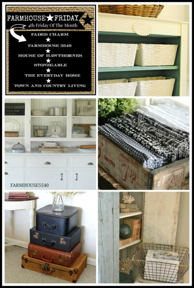 Farmhouse Friday Storage Ideas