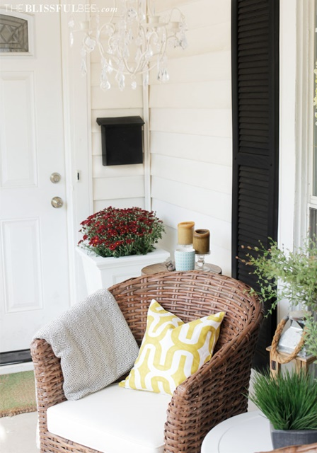 Front Porch at The Blissful Bee