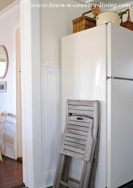 An unused corner of my farmhouse kitchen
