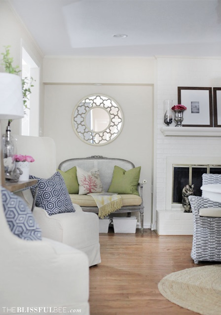 Charming Home Tour. The Blissful Bee.