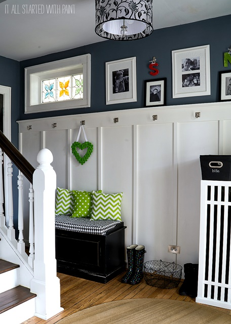 Board and Batten Entry Way