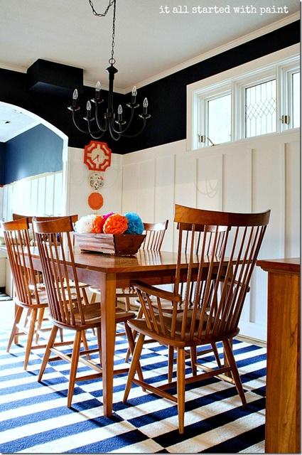 Coastal Style Dining Room