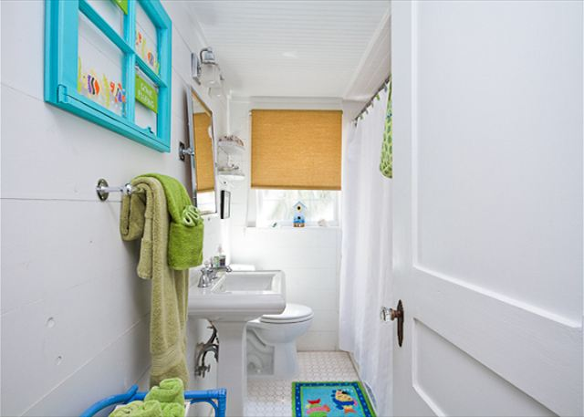 Cottage Bathroom at Tybee Island