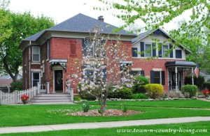 Historic Homes in St. Charles, Illinois