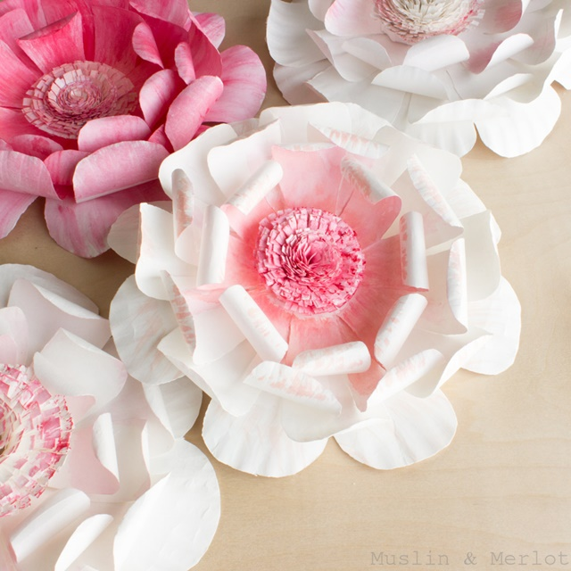 Paper Flower Crafts For Mother