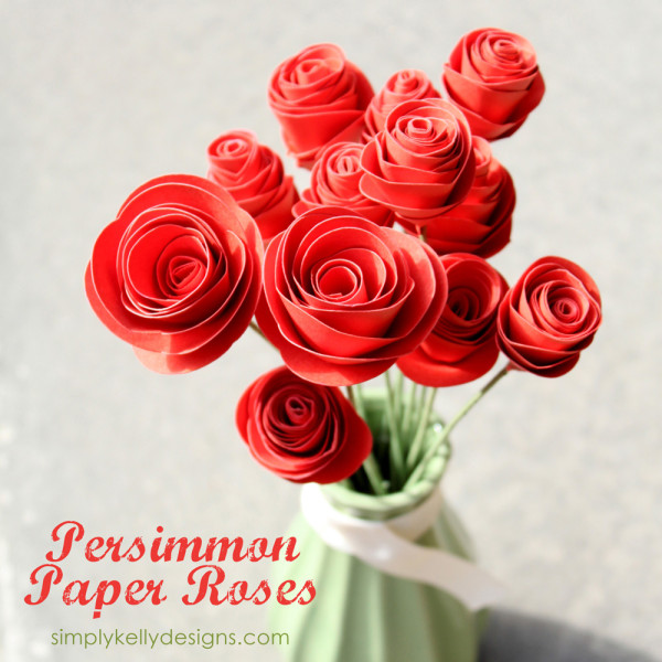10 paper flower crafts town country living diy persimmon paper roses mightylinksfo