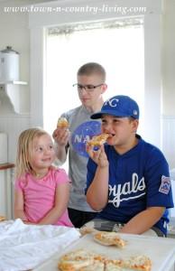 Enjoying Baseball and Family Time