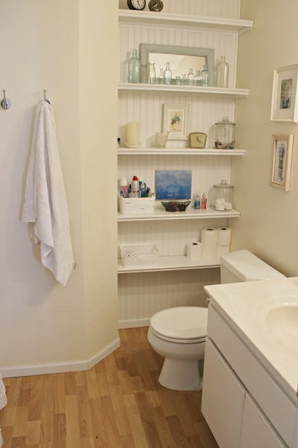 Charming home tour happy at home town country living - How to maximize space in a small bathroom minimalist ...
