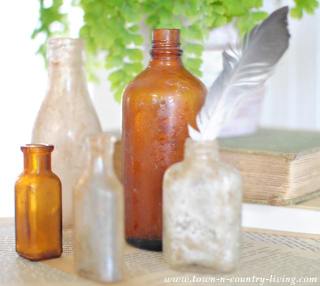 Vintage Flea Market Bottles