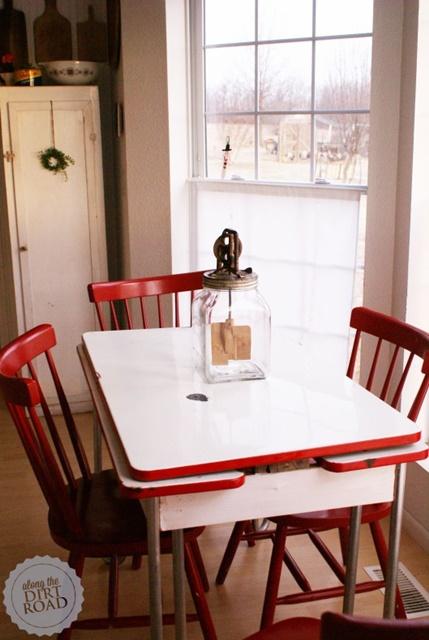 Vintage Style Kitchen Table