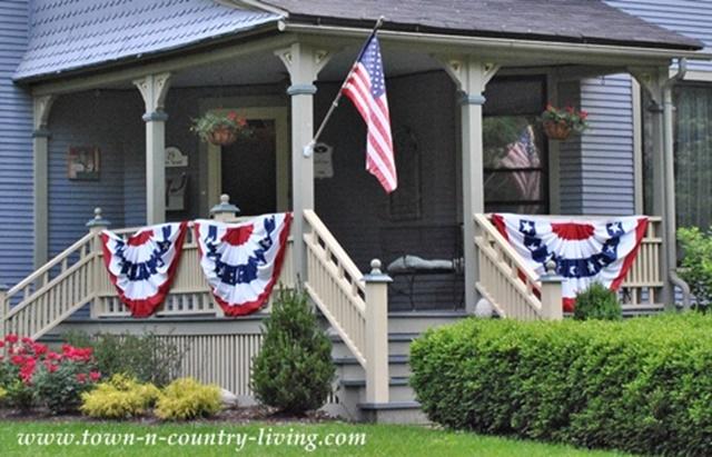 Patriotic Curb Appeal