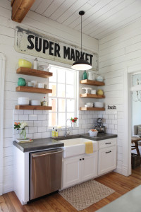 Decorating with Signs. See all 12 examples.
