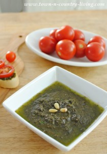 Farm to Table ~ Basil Pesto Recipe