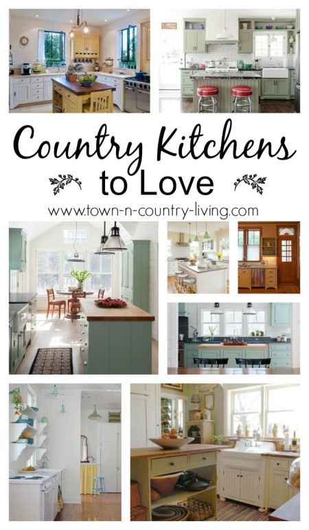 Collection of Country Kitchens to Love