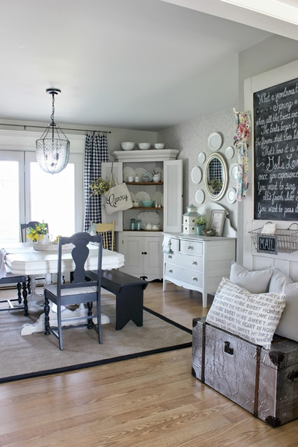 Neutral Style Dining Room