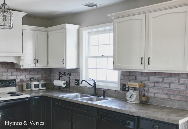 Kitchen Makeover with Painted CabinetsCharming Home Tour   Hymns and Verses   Town   Country Living. 2 Different Color Kitchen Cabinets. Home Design Ideas
