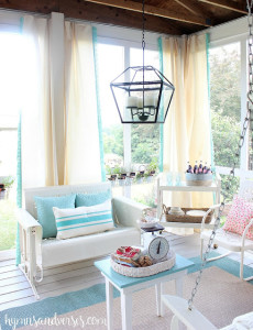 Country Style Screened Porch