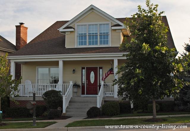 Tour of Village Homes in Geneva, Illinois