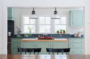Collection of Pretty Country Kitchens, filled with decorating inspiration!