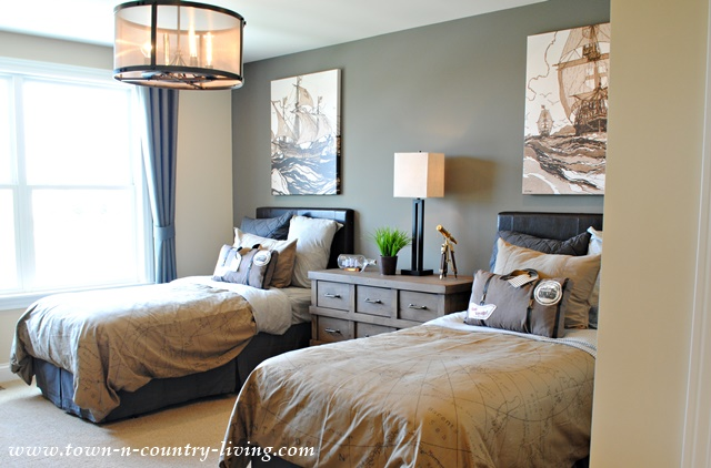 Kids Bedroom Model model home bedrooms