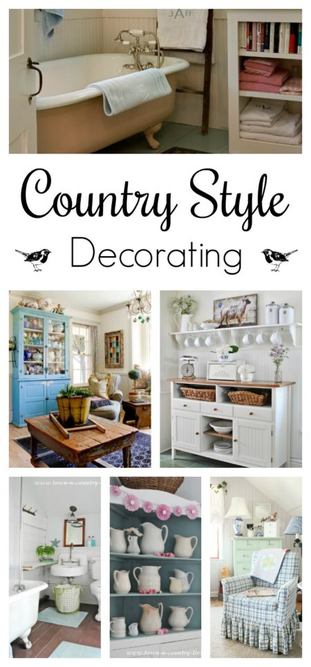 Country Style Decorating