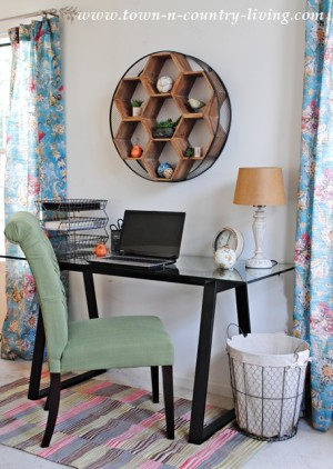 New Home Office Space with a Mix and Match Desk