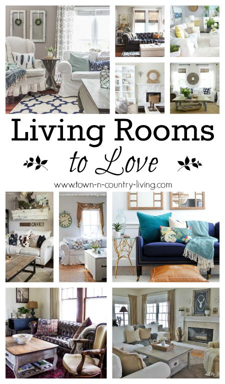 10 Living Rooms To Love Town Country Living