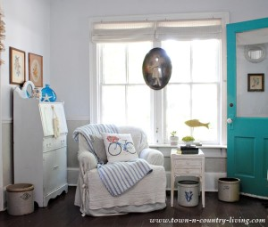 Shabby Chic Reading Corner