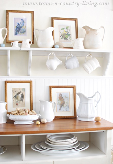 Spring Country Style Shelves