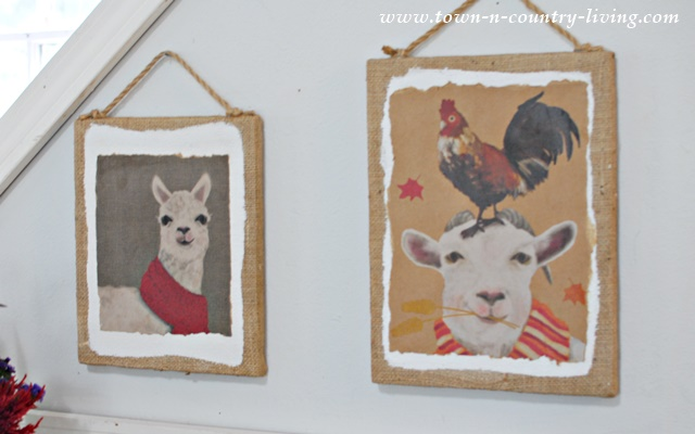 Paper Bag Wall Decor : Wall art from paper bags town country living