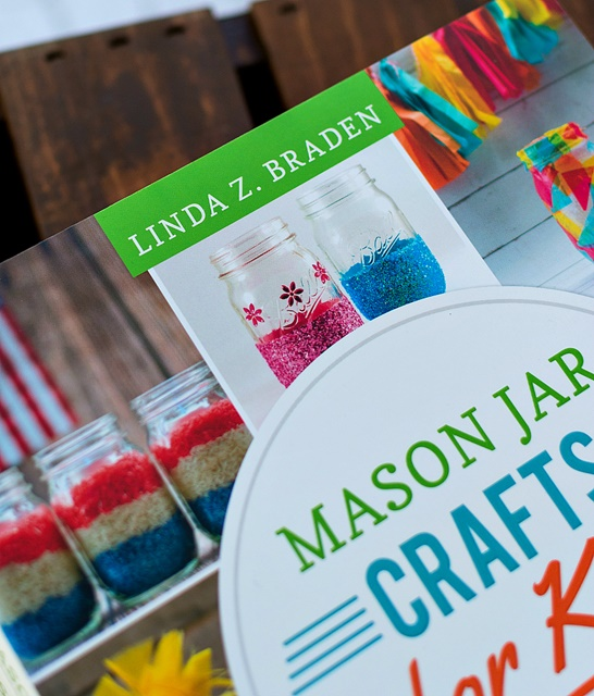 Mason Jar Crafts For Kids Book Giveaway Town Country Living
