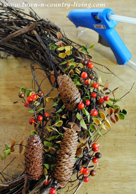 DIY Fall Wreath in Minutes