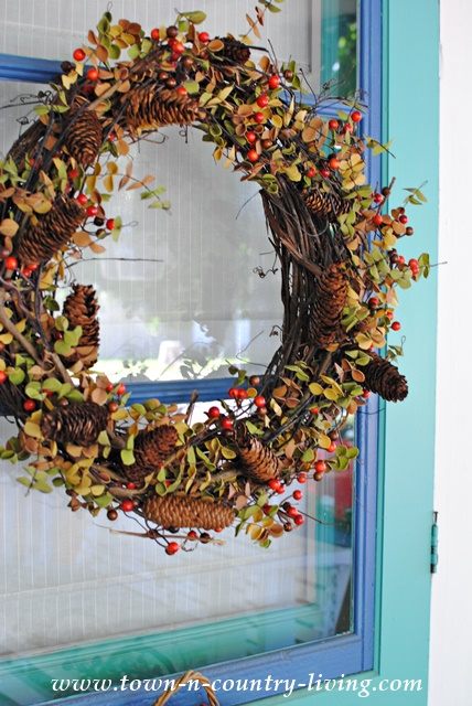Easy Fall Wreath You Can Make in Minutes