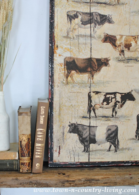 Farmhouse Fall Mantel