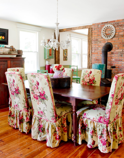 Colorful Farmhouse Dining Room