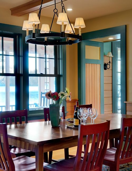 See 10 examples of painted trim in the home.