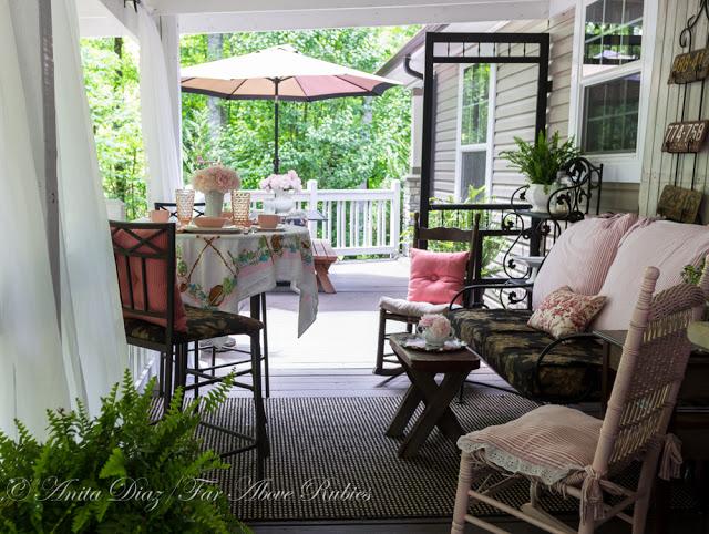 Vintage Back Porch