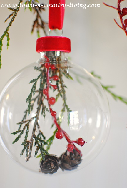 How to make botanical glass ball ornaments jennifer rizzo