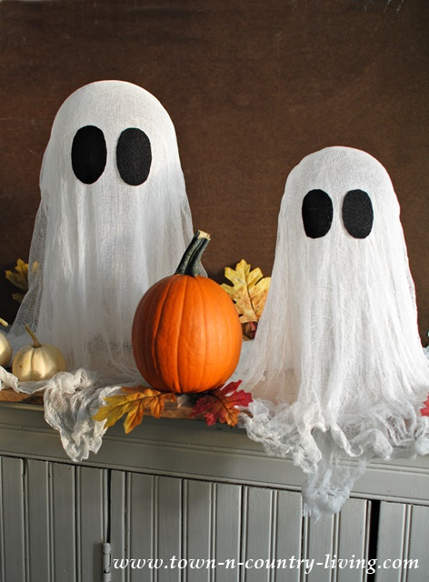 Best DIY Halloween Ghosts! - Town & Country Living