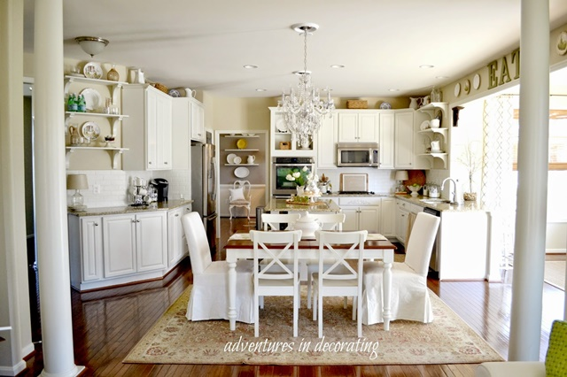 Light and Airy White Kitchen